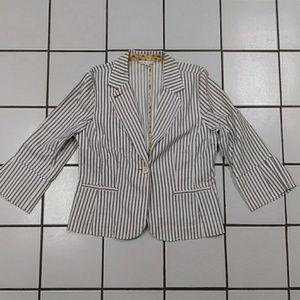 Cabi striped blazer